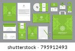 corporate identity branding... | Shutterstock .eps vector #795912493