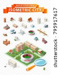 build your own isometric city...
