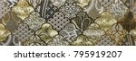 mosaic  ceramic kitchen tile ... | Shutterstock . vector #795919207