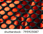 fabric texture background. | Shutterstock . vector #795925087
