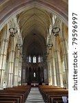 Inside Arundel Cathedral