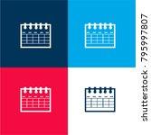 calendar variant symbol four...