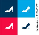 high heels four color material...