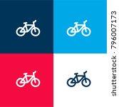 bike hand drawn transport four... | Shutterstock .eps vector #796007173