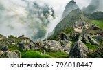 inca village in the mountains | Shutterstock . vector #796018447