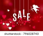 beautiful love background for... | Shutterstock .eps vector #796028743