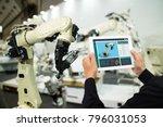 iot industry 4.0 concept... | Shutterstock . vector #796031053