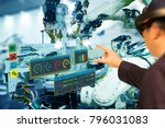 iot industry 4.0 concept...   Shutterstock . vector #796031083