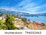 beautiful coast of french... | Shutterstock . vector #796032463