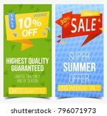 set of isolated labels for... | Shutterstock .eps vector #796071973