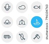 vector illustration of 9... | Shutterstock .eps vector #796104763