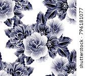 abstract elegance seamless... | Shutterstock . vector #796181077