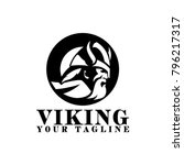 viking logo design | Shutterstock .eps vector #796217317