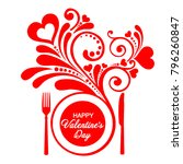 happy valentine's day.... | Shutterstock . vector #796260847