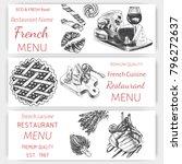vector sketch of the menu of...   Shutterstock .eps vector #796272637