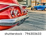 classic american vintage cars | Shutterstock . vector #796303633