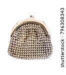 silver handmade handbag  | Shutterstock . vector #796308343