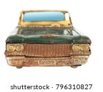 old style tin car | Shutterstock . vector #796310827