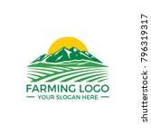 farming logo vector
