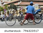 chau doc  vietnam   2012 ... | Shutterstock . vector #796323517