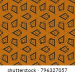 abstract repeat backdrop.... | Shutterstock .eps vector #796327057