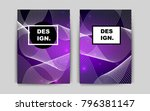 dark purple vector banner for...