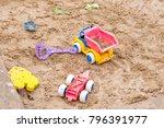 Children Wooden Sand Box With...