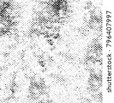 abstract grunge grey dark... | Shutterstock . vector #796407997