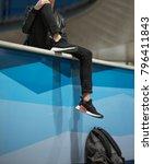 milan  italy   november 11 ...   Shutterstock . vector #796411843