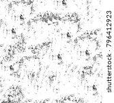 abstract grunge grey dark... | Shutterstock . vector #796412923