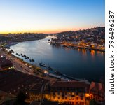 view over the douro river by... | Shutterstock . vector #796496287