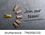 join our team. job offer ... | Shutterstock . vector #796506133