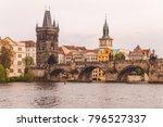prague   czech... | Shutterstock . vector #796527337