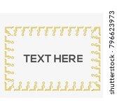 shape border frame vector | Shutterstock .eps vector #796623973