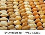 various typical brazilian small ... | Shutterstock . vector #796742383