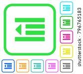 decrease text indentation vivid ... | Shutterstock .eps vector #796765183