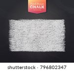 hand drawn grunge texture... | Shutterstock .eps vector #796802347