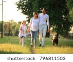 concept of raising children   a ... | Shutterstock . vector #796811503