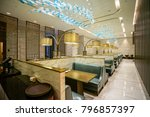 restaurant interior   the... | Shutterstock . vector #796857397