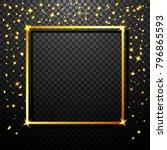 vector illustration of luxury... | Shutterstock .eps vector #796865593