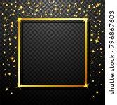 luxury celebrations background... | Shutterstock . vector #796867603