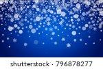 winter border with white... | Shutterstock .eps vector #796878277