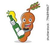 with beer tamarind mascot... | Shutterstock .eps vector #796894867