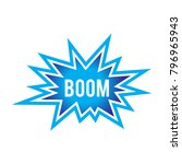 boom explosion flash | Shutterstock .eps vector #796965943