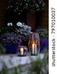 Small photo of A beautiful, ambiance garden lanterns.