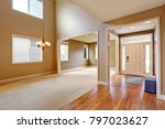 light taupe interior with... | Shutterstock . vector #797023627