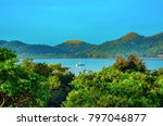 bay of coron  province of... | Shutterstock . vector #797046877