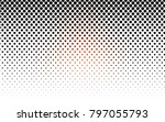 dark red vector red pattern of... | Shutterstock .eps vector #797055793