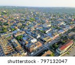 aerial view french quarter with ... | Shutterstock . vector #797132047
