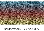 weave texture background vector | Shutterstock .eps vector #797202877